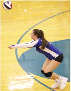 Scobey Volleyball  Team Searching  For First Victory
