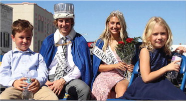 HOMECOMING ROYALTY at Scobey High ….