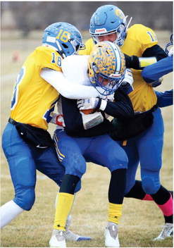 SCOBEY'S ZACH TURNER (left) and ….