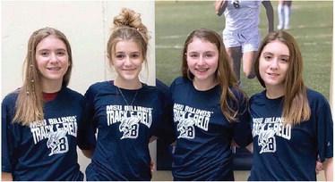 Four Scobey Girls  Get Early Start In Track/Field Season