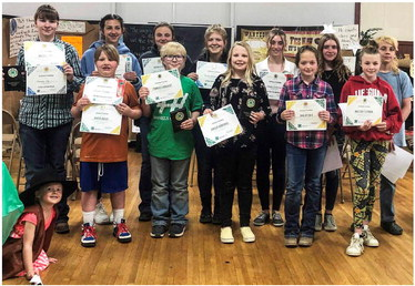 4-H Members Give  Demonstrations