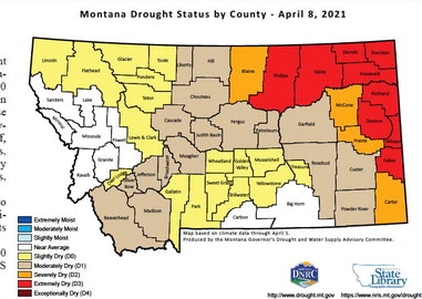 MT Drought  Monitoring  Group To Meet