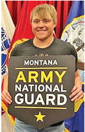 Stentoft Joins Army  National Guard