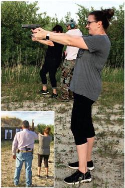 BEGINNERS HAND GUN CLASS was ….