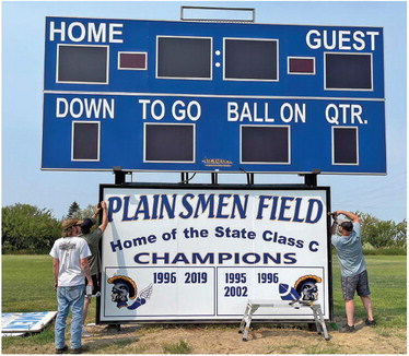 SCOBEY  PLAINSMEN  commissioned ….