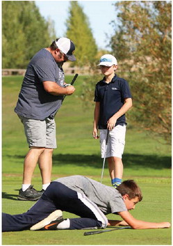 Three-Club Scramble  Raises Over 2 Grand  For City Firefighters